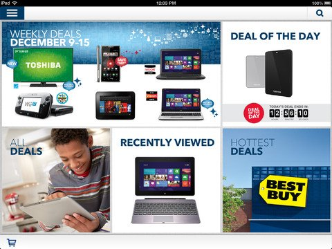 Find Your Next Best Buys With The New Best Buy Deals App For iPad