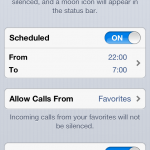 Apparently, iOS 6's Do Not Disturb Feature Has A New Year's Day Hangover