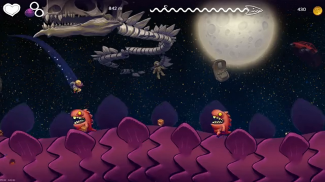Dragon Runner Promises To Add Mario-Esque Depth To iOS Endless Running
