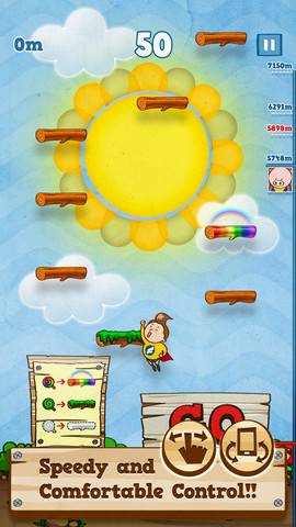 I Believe I Can Fly: Reach New Heights As Flying Boy In This New Doodle Jump-Like Game