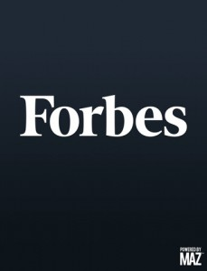 Popular Business Publication Forbes Magazine Finally Comes To Apple's Newsstand
