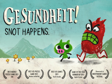 Ah-Choo! Gorgeously Snotty Game Gesundheit! Gets Rereleased For Free
