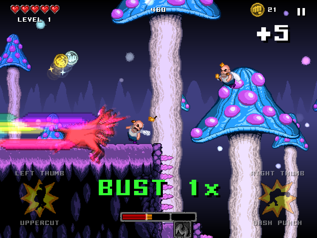 Turn Into A Rainbow-Dashing And Fairy-Slaying Goaticorn In Punch Quest