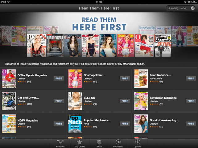 Be Among The First To Read Popular Hearst Titles Through Apple's Newsstand