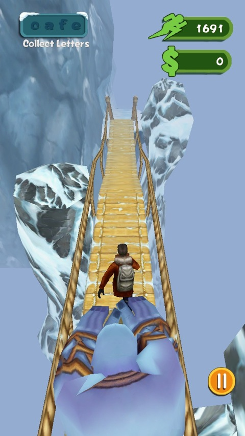 Escape The Hideous Snow Monster In Snowberg Chase