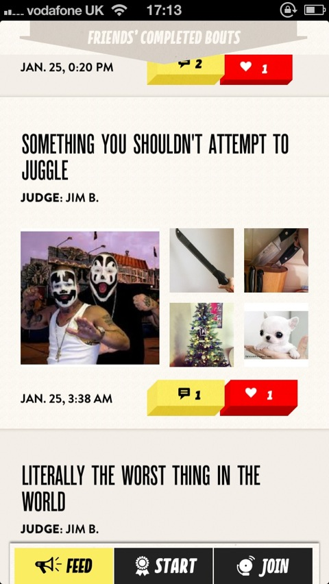 Defeat Your Friends By Taking The Funniest Photos With Bout