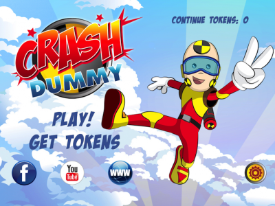 Quirky App Of The Day: Crash Dummy Is No Dummy As A Superhero