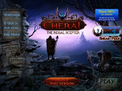 Quirky App Of The Day: The Dark Hills Of Cherai: The Regal Scepter