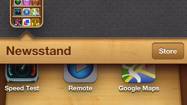 How To Put Apps Inside Of Newsstand Without A Jailbroken Device