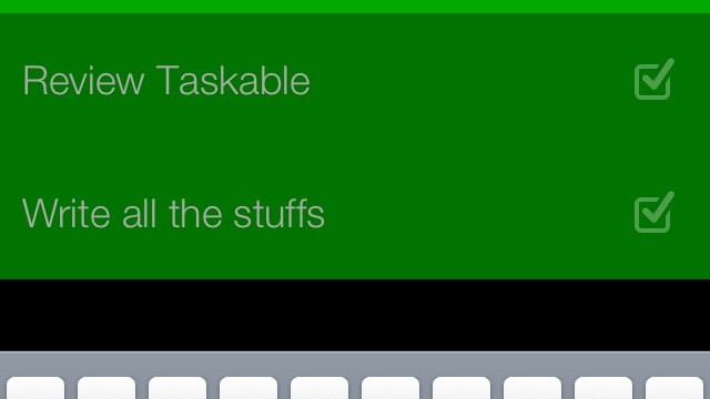 Keep Track Of Your To-Dos This Year With Taskable