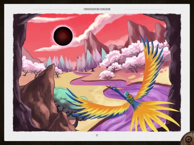 Visual Baker Brings Edward Packard And Underground Kingdom To The iPad