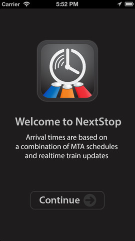 Next Stop For NextStop - NYC Subway: Real-Time Train Arrival Information