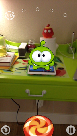 Feed A Virtual Om Nom In Zeptolab's New Game Om Nom: Candy Flick