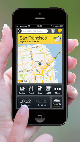 Scout By Telenav Updated With iPhone 5 Support And Navigation Enhancements
