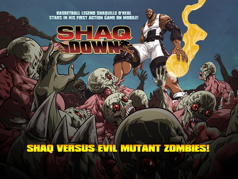 Play As Shaquille O'Neal And Free-Throw Punches At Zombies In ShaqDown
