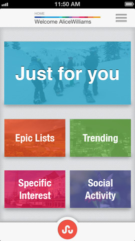 StumbleUpon For iOS Stumbles Upon New Major Update