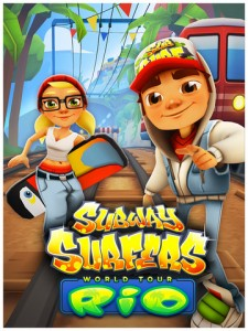 Dodge Trains And Dance The Samba As Subway Surfers Goes On Tour In Sunny Rio