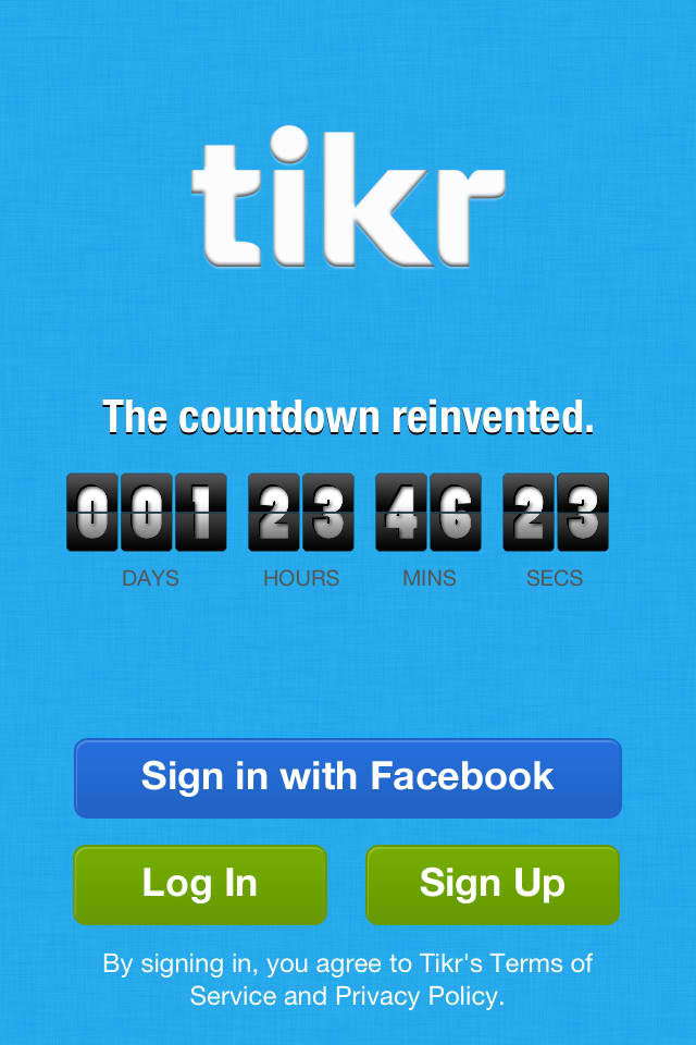 Count Down To Your Most Awaited Events With Tikr