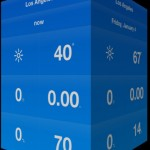 Clear-Like Gestural Weather App Weathercube Goes Universal With New iPad Version