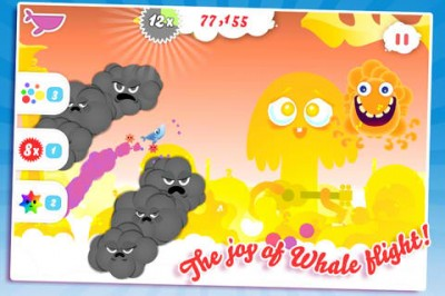 Krilliant! Whale Trail Gains New Challenge Levels With Speed, Stars And Space