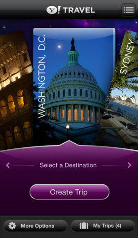 Personalize Your Trip Plans With The Newly Updated Yahoo! TimeTraveler