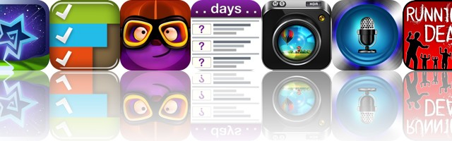 Today's Apps Gone Free: Starry Sky, TinyList, Night Flight And More