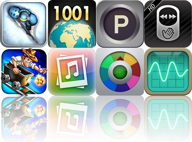 Today's Apps Gone Free: Hunters: Episode One, 1001 Wonders, Mission: Park! And More
