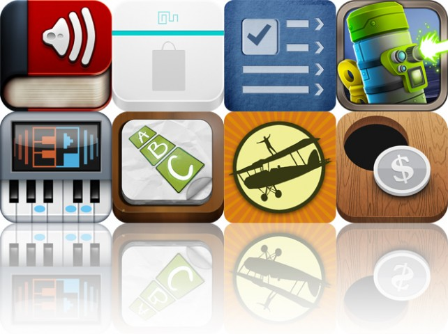 Today's Apps Gone Free: Audiobooks HQ, Shop Easy, Task PRO And More
