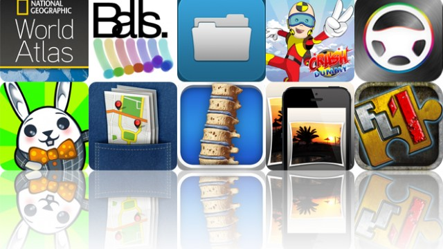 Today's Apps Gone Free: National Geographic World Atlas, Balls, File Manager Pro And More