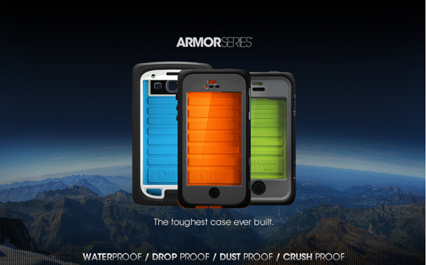 CES 2013: OtterBox's Waterproof Armor Series Case Coming In February