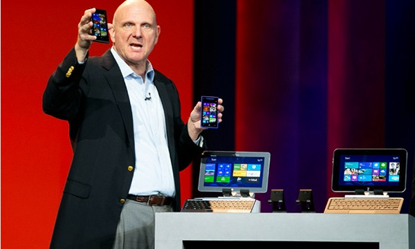 Microsoft's Ballmer Talks Office For iOS And 'Small' Number Of Dropbox Users