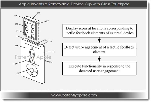 Apple Patent Describes A Device Clip With A Removable Glass Touchpad