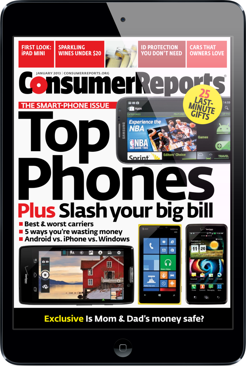 Updated: Consumer Reports Doesn't Think Much Of The iPhone 5