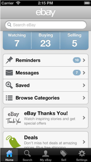 Updated eBay App For The iPhone Highlighted By A New Listing Flow
