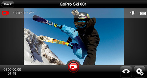 CES 2013: Use A Free iOS App To Remotely Control Your GoPro Camera