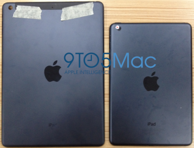 Leaked Rear Panel Images Suggest The iPad 5 Will Look A Lot Like The iPad mini