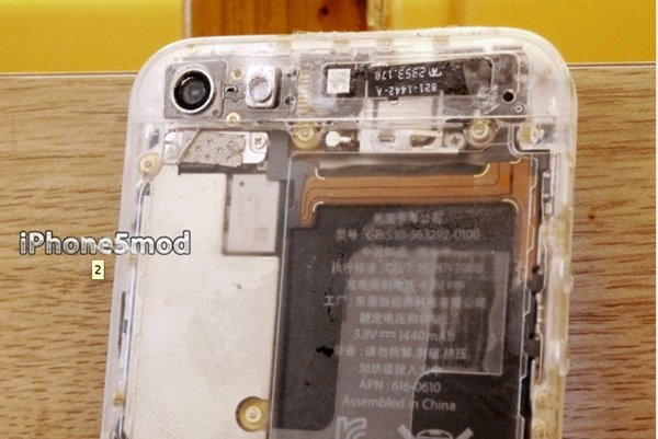 Show Off The Inside Of Your iPhone 5 With This Translucent Mod Kit