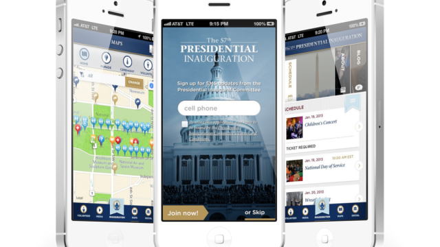 The Official Inaugural 2013 App Has Arrived, But Be Careful How You Use It