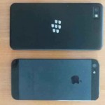 See The iPhone 5 Next To The Upcoming BlackBerry Z10