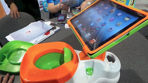 CES 2013: The iPotty Might Easily Be The Craziest iPad Accessory You'll Ever See