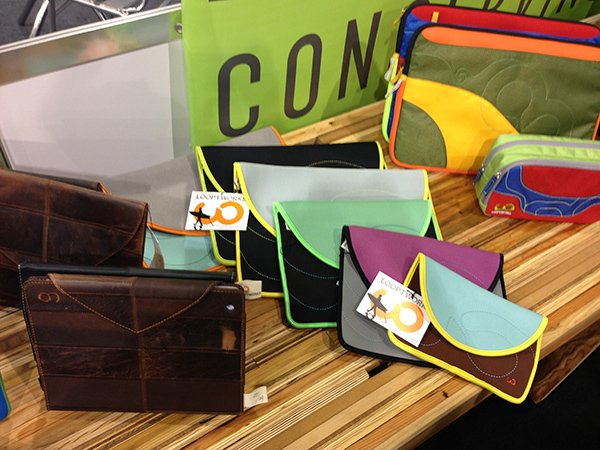 CES 2013: Looptworks Offers A Beautiful iPad Case From Reused Leather
