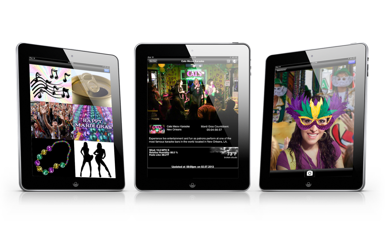 Experience Mardi Gras Live On Your iPhone And iPad