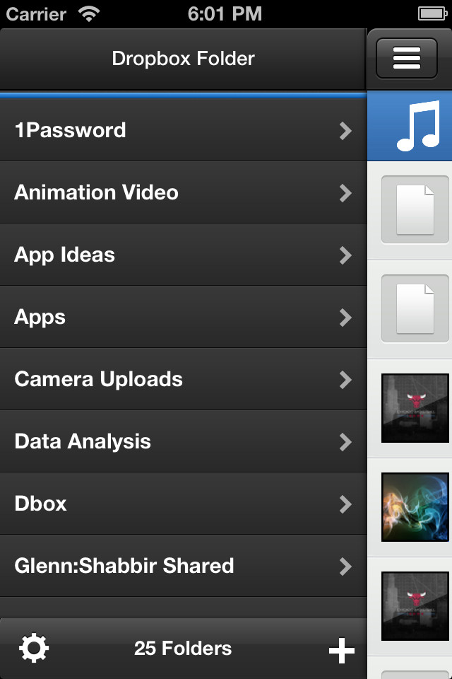 Get A More Robust Dropbox Experience On Your iPhone With ClouDrop For Dropbox