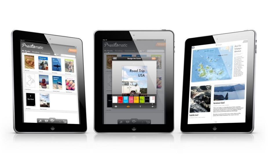 Presstomatic Scrapbooking App Launches For iPad, iPad mini