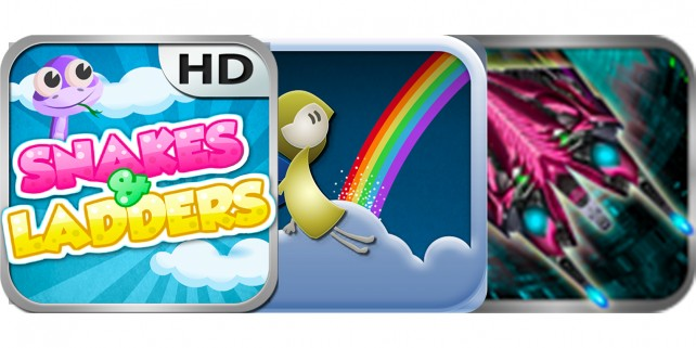 Today's Best Apps: Snakes & Ladders Unlimited, Rainbow Links And More