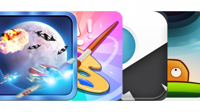 Today's Best Apps: Alpha Squadron, Doodle Club, Divvy And More