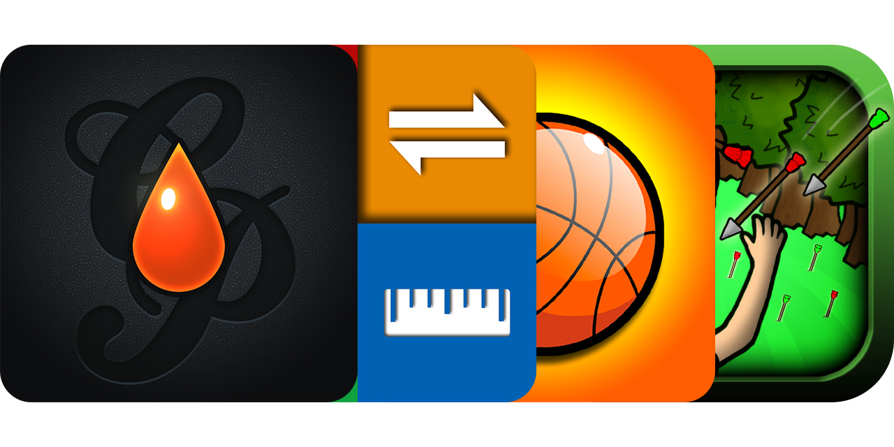 Today's Best Apps: Collage Painter, Units Plus Converter, Funky Hoops Basketball And More