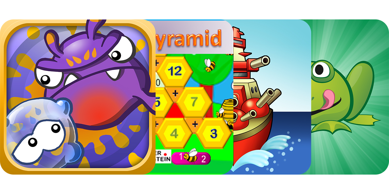 Today's Best Apps: Germ Smash, 123 Math Pyramid, Naval Warfare And More
