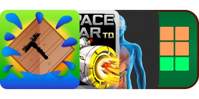 Today's Best Apps: Tower of Words, Space War TD, Human-Bio And More