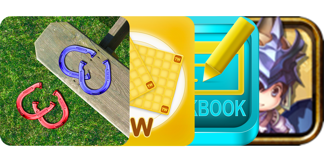 Today's Best Apps: Horseshoe Pitch-A-Rama, Word Waffle, My Checkbook And More